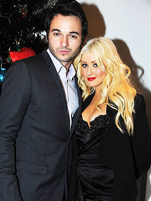 christina aguilera 300 Couples Watch: Christina Aguilera & Matt Rutlers Vegas Fight Night