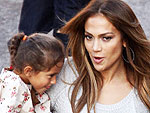 Jennifer Lopez's Daughter Charms an Action Hero | Jennifer Lopez