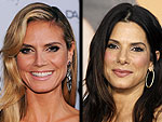 Sandra Bullock & Heidi Klum Have a Dance Party in Hollywood | Heidi Klum, Sandra Bullock