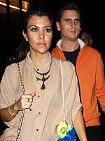 Kourtney Kardashian & Scott Disick&#39;s Glam Bowling Outing | Kourtney Kardashian, Scott Disick