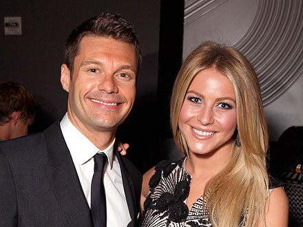Julianne Hough, Ryan Seacrest Relationship