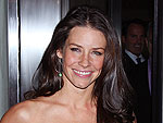Evangeline Lilly (and Baby!) Head to a Sushi Dinner