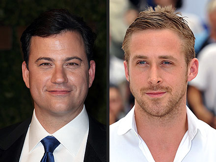 Ryan Gosling Indulges In a Four-Hour Dinner with Jimmy Kimmel