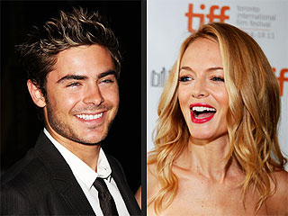 Zac Efron & Heather Graham Get a Gift: $100,000 in Champagne! | Heather Graham, Zac Efron