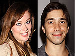 Olivia Wilde & Justin Long Grab Cocktails in N.Y.C. | Justin Long, Olivia Wilde