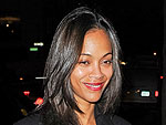 Zoe Saldana Downs Oysters and Dances in Manhattan | Zoe Saldana