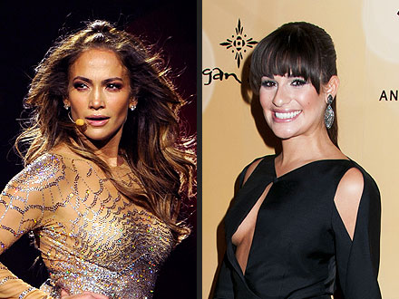 Lea Michele Cheers On J.Lo in Concert | Jennifer Lopez, Lea Michele