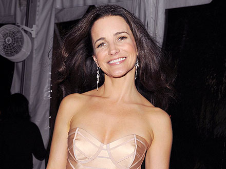 New Mom Kristin Davis Hits the Town – and Sips Champagne! | Kristin Davis