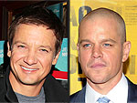 Jeremy Renner Runs Into Matt Damon at a N.Y.C. Nightclub | Jeremy Renner, Matt Damon
