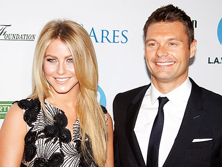 Julianne & Ryan's Romantic Dinner Date | Ryan Seacrest