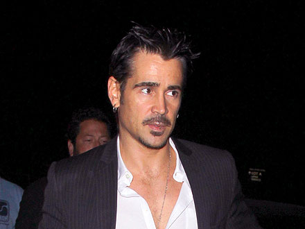Colin Farrell Cracks Up with Christopher Walken at Chateau Marmont