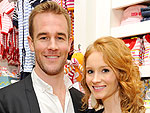 James & Kimberly Van Der Beek Support a Children's Charity in L.A. | James Van Der Beek
