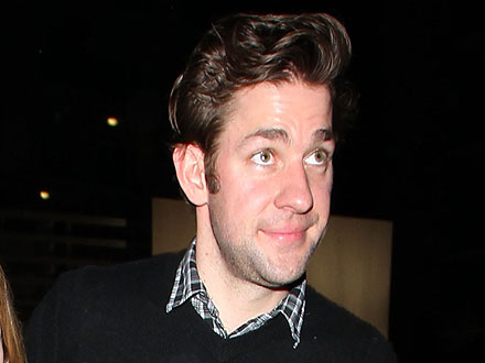 John Krasinski Has a Guys&#39; Night in Hollywood