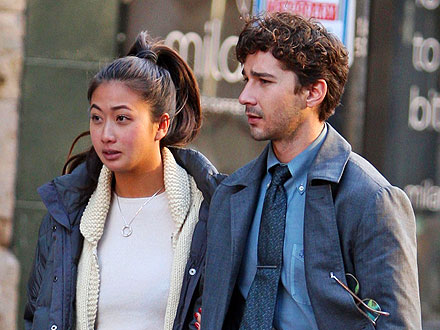 Shia LaBeouf&#39;s Lovely On-Set Visitor: His Girlfriend! | Shia LaBeouf