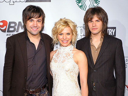 The Band Perry Celebrates Their CMA Win with a Bash in Nashville