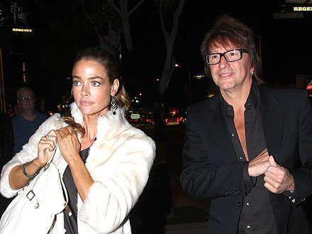 denise richards 440 Denise Richards &amp; Richie Sambora Back Together for Friends B Day Bash