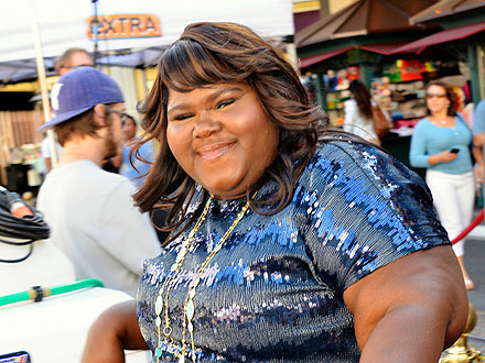 Gabourey Sidibe Enjoys Fan Attention (and Martinis) in West Hollywood | Gabourey 'Gabby' Sidibe