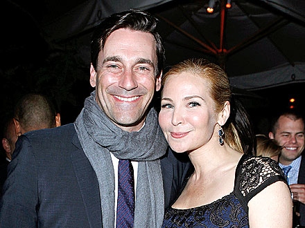 Jon Hamm Cozies Up to His Girlfriend – and Other Stars! | Jennifer Westfeldt, Jon Hamm