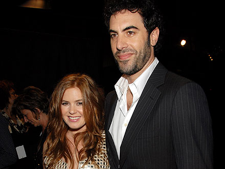 Sacha Baron Cohen & Isla Fisher Chat Up Johnny Depp&#39;s Girlfriend at Dinner