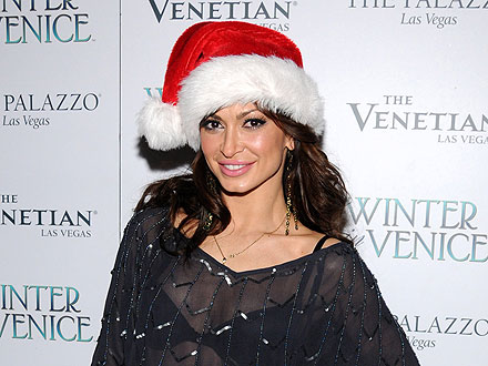 Karina Smirnoff Gets into the Holiday Spirit in Vegas | Karina Smirnoff