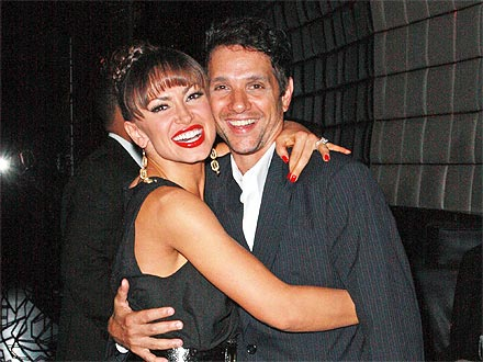Karina Reteams with Ralph Macchio for Laughter-Filled Dinner | Karina Smirnoff, Ralph Macchio