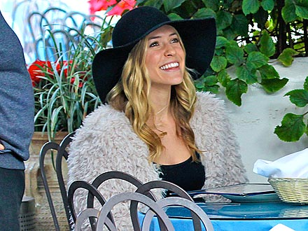 Kristin Cavallari Shows Off Her Engagement Ring at Lunch