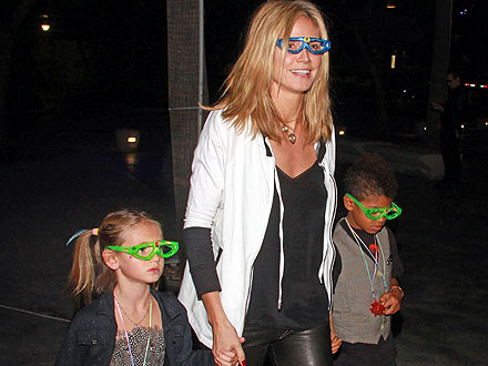 Heidi Klum Takes Her Kids to Katy Perry's Concert | Heidi Klum