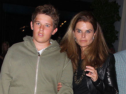 Maria Shriver's Sweet Mother-Son Dinner Date | Maria Shriver