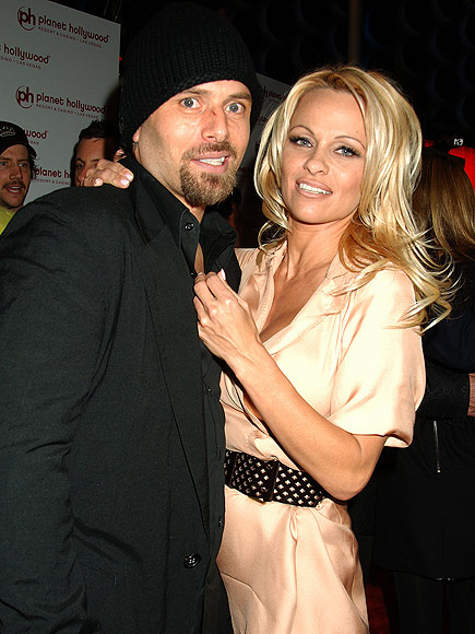 PAM & RICK  photo | Pamela Anderson, Rick Salomon