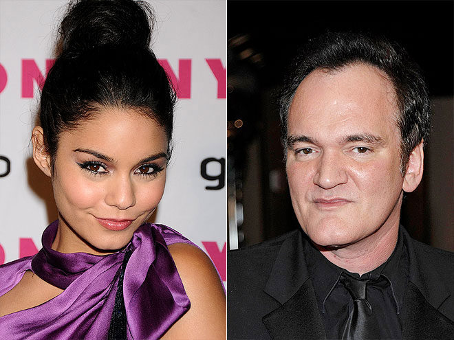photo | Quentin Tarantino, Vanessa Hudgens