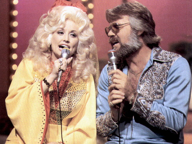 photo | Dolly Parton, Kenny Rogers