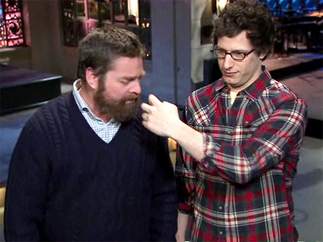 photo | Andy Samberg, Zach Galifianakis