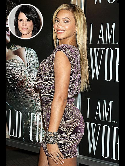 photo | Beyonce Knowles, Neve Campbell