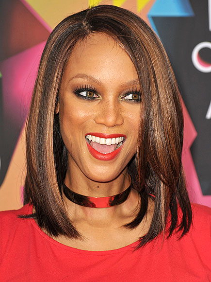 tyra banks 2011 hairstyle. Tyra Banks pictures 2011