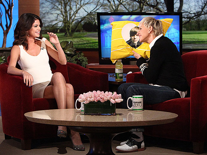 selena gomez on ellen march 22. selena gomez on ellen