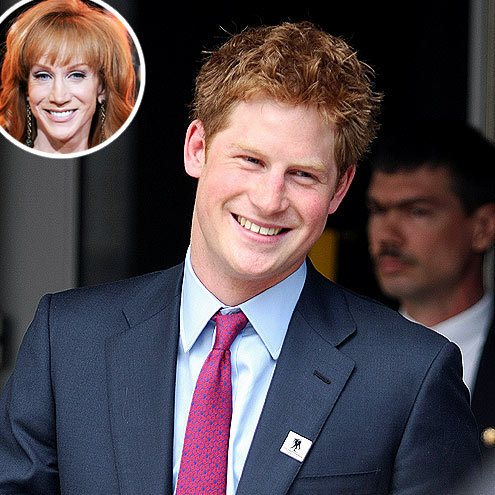 photo | Kathy Griffin, Prince Harry