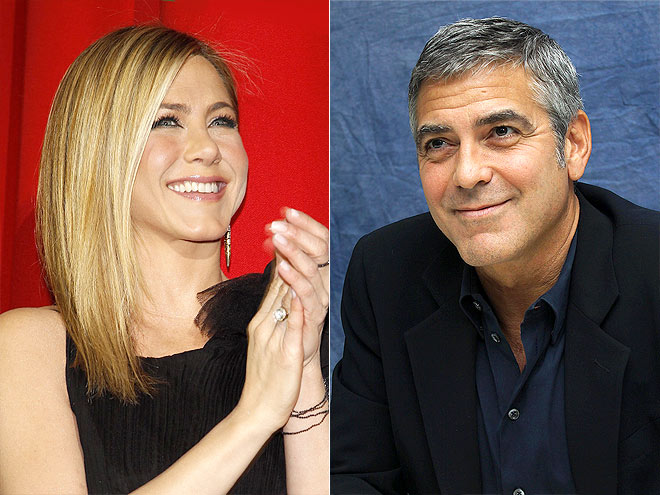 photo | George Clooney, Jennifer Aniston