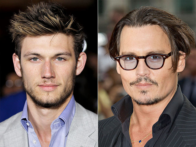 photo | Alex Pettyfer, Johnny Depp
