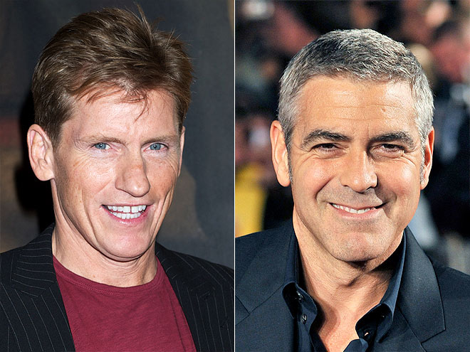 photo | Denis Leary, George Clooney
