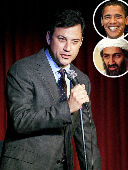 photo | Barack Obama, Jimmy Kimmel, Osama bin Laden
