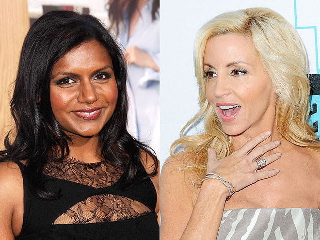 photo | Camille Grammer, Mindy Kaling