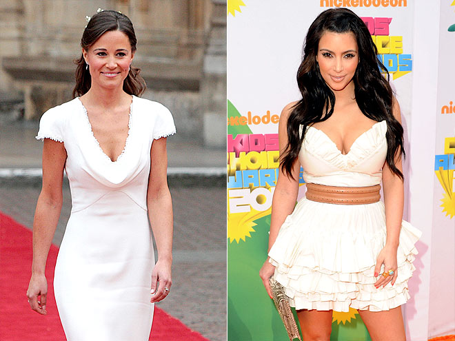 photo | Kim Kardashian, Pippa Middleton