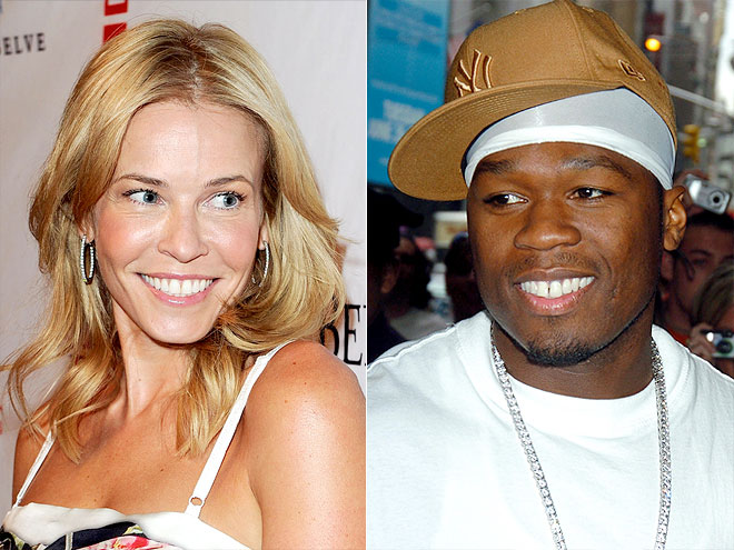 photo | 50 Cent, Chelsea Handler