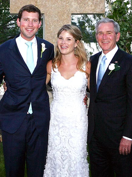 photo | George W. Bush, Henry Hager, Jenna Bush