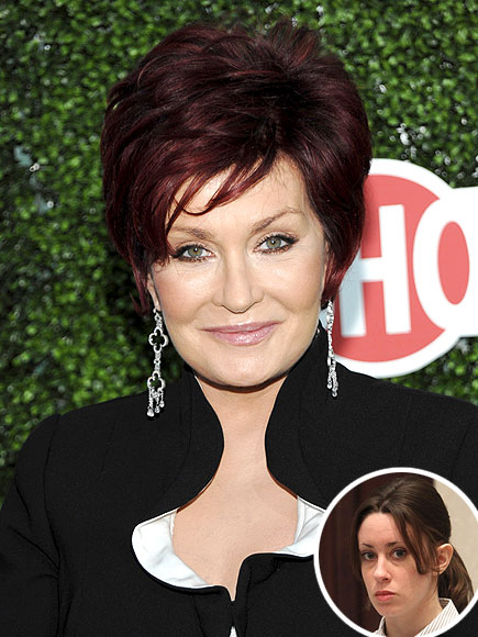 photo | Casey Anthony, Sharon Osbourne