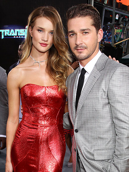 photo | Rosie Huntington-Whiteley, Shia LaBeouf
