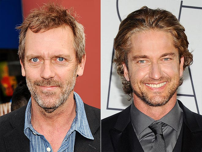 photo | Gerard Butler, Hugh Laurie
