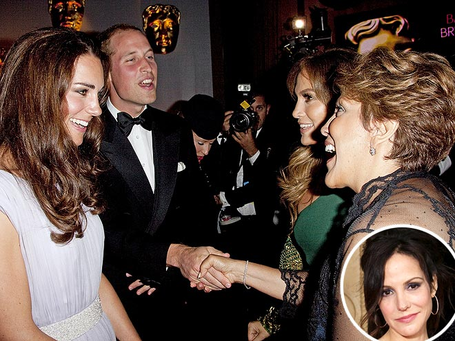  photo | Kate Middleton, Mary-Louise Parker, Prince William