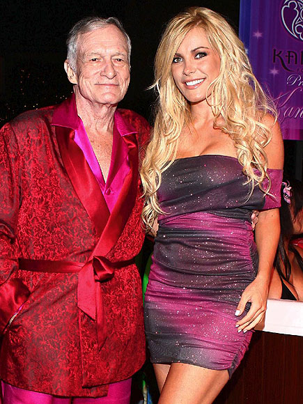 photo | Crystal Harris, Hugh Hefner
