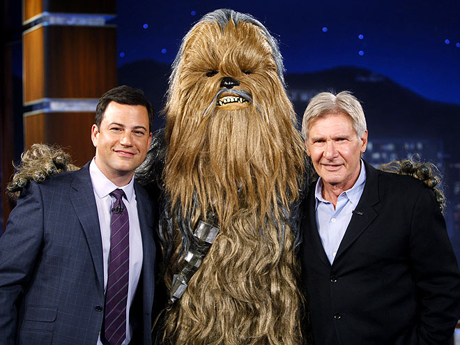 photo | Harrison Ford, Jimmy Kimmel